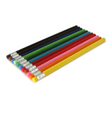 Bleistift mit samtige Oberfläche, Hellgrün