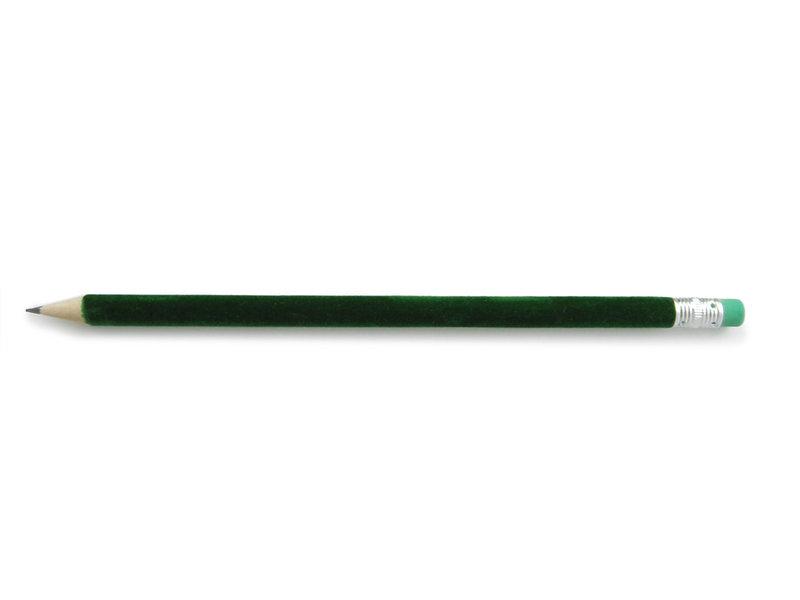 Crayon velours, Vert foncé