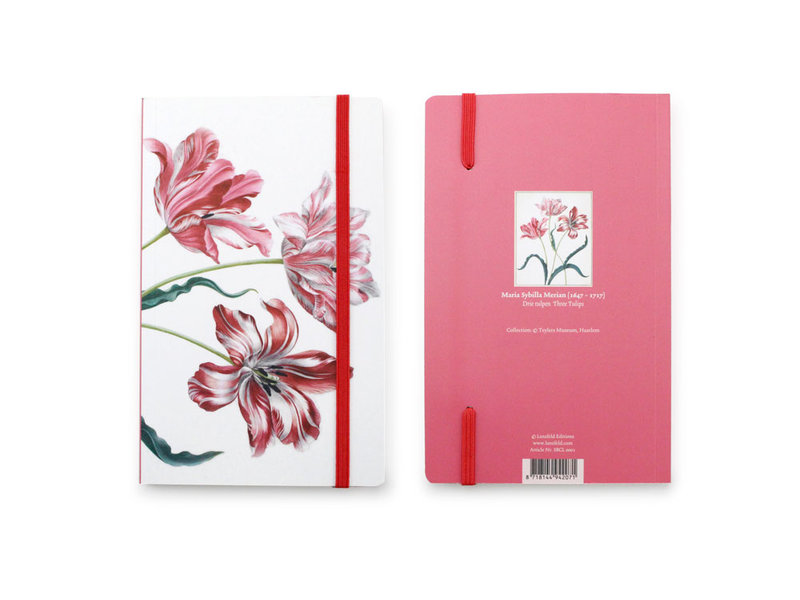 Softcover-Notizbuch, drei Tulpen, Merian