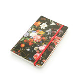 Softcover Notebook, Vase with Flowers, De Heem