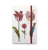 Softcover notitieboekje, Vier tulpen met insecten, Marrel