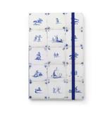 Softcover notitieboekje, Delfts blauwe tegels