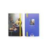 Carnet à couverture souple, La laitière, Vermeer