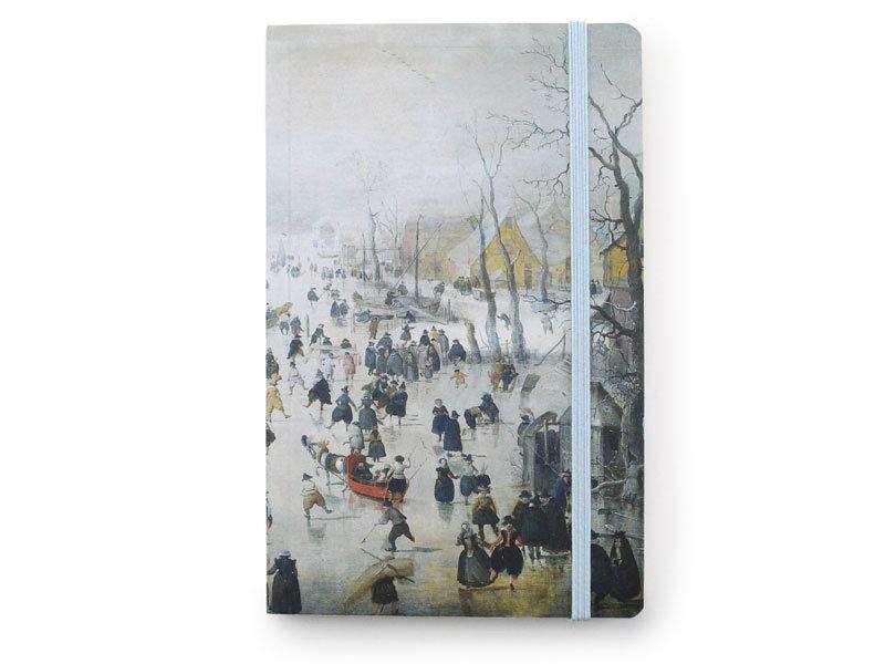 Softcover notitieboekje, Winterlandschap, Avercamp
