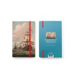 Softcover notitieboekje, Schepen op zee 1689, Van de Velde