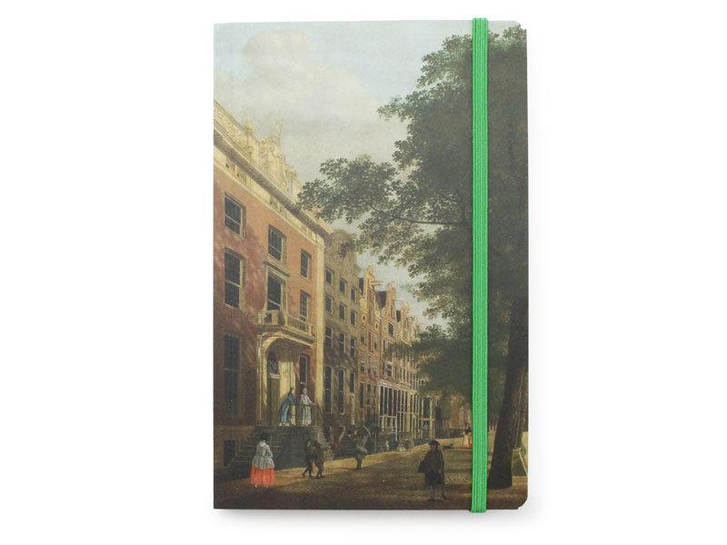 Softcover Notebook, Zicht op de Herengracht, Keun