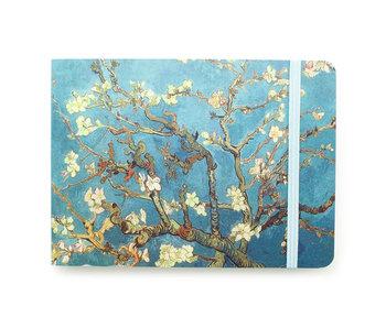 Cuaderno de dibujo, flor de almendro, Van Gogh