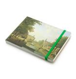 Cuaderno de bocetos, Vista del Houtmarkt en Amsterdam, Keun