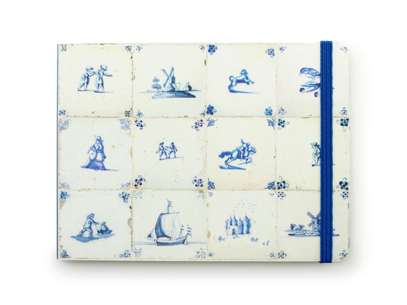 Skizzenbuch, Delfter blaue Fliesen