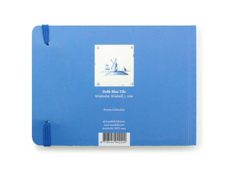Schetsboekje, Delfts blauwe tegels