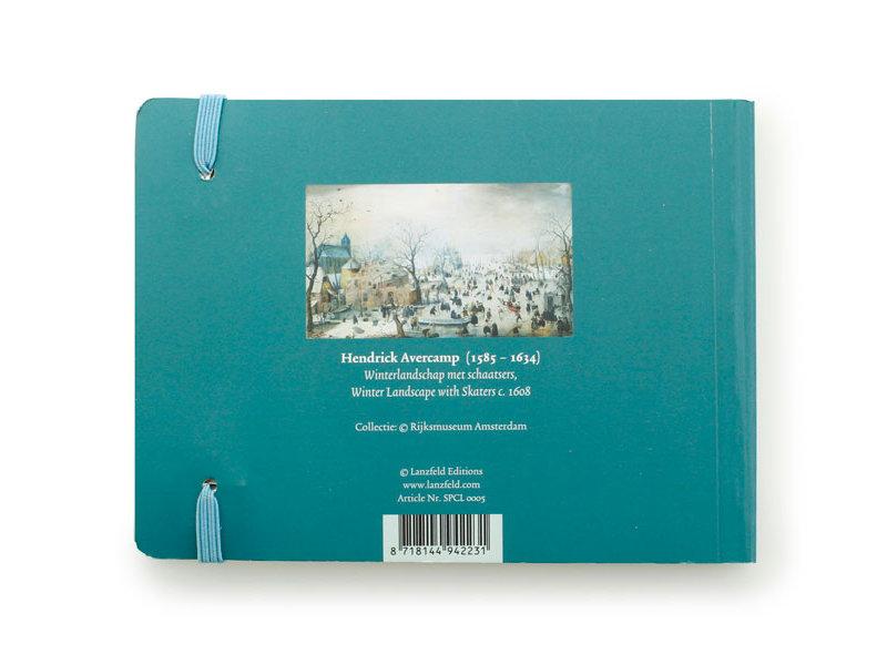 Schetsboekje, Winterlandschap, Avercamp