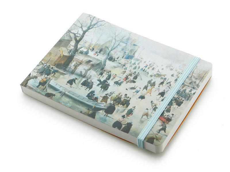Skizzenbuch, Winterlandschaft, Avercamp