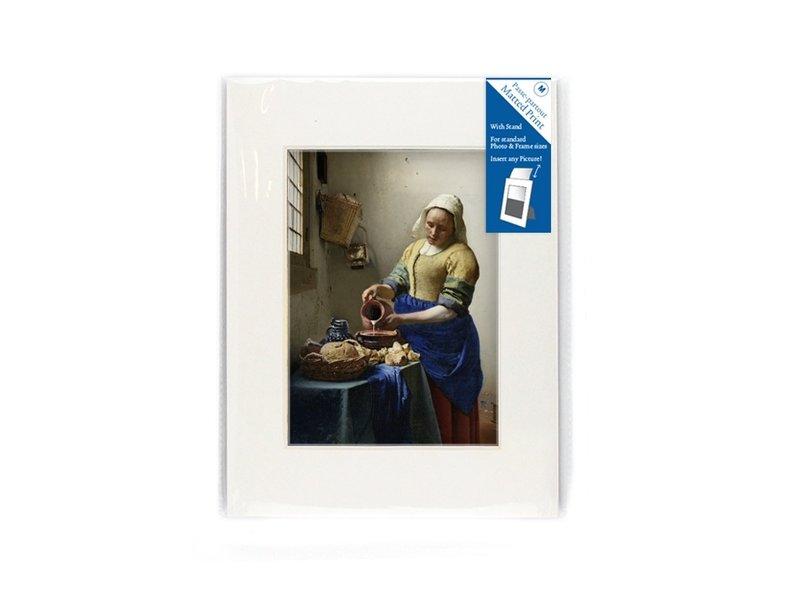 Passe-Partout, M, 24 x 18 cm, Die Milchmagd