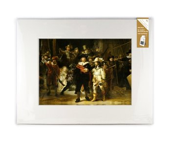 Matted prints with reproduction, XL, De Nachtwacht, Rembrandt