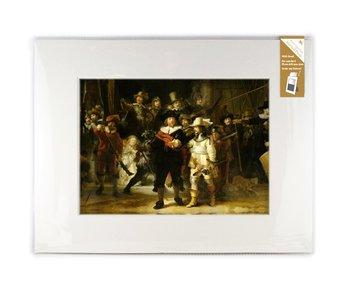 Passe-partout con reproducción, XL, De Nachtwacht, Rembrandt