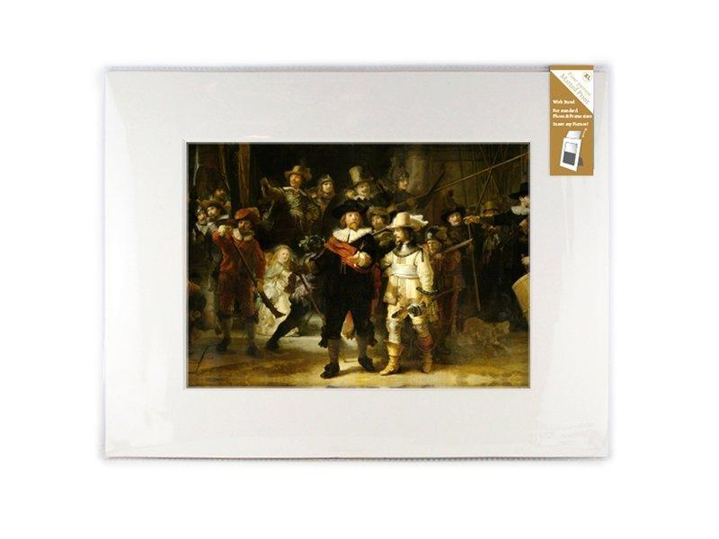 Passe-partout avec reproduction, XL, De Nachtwacht, Rembrandt