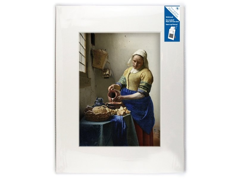 Passe-partout ,  XL , 40 x 30 cm ,  Het melkmeisje