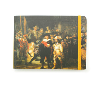 Cuaderno de bocetos, Vigilancia nocturna, Rembrandt