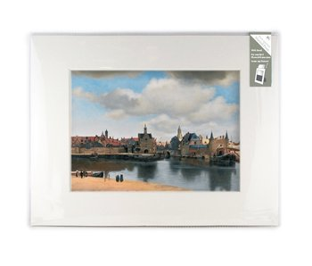 Matted prints  XL, 40 x 30 cm, View of Delft