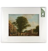 Matted prints with reproduction, XL, View on the Herengracht, Keun