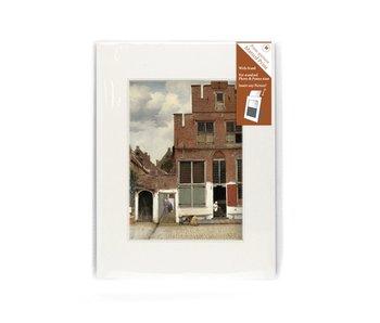 Passe-partout, M, 24 x 18 cm, calle de Vermeer