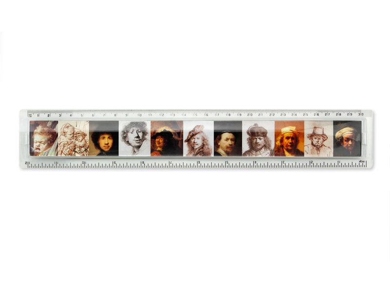 Règle, Autoportrait, Rembrandt