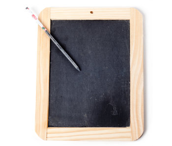 Writing Slate with Pencil