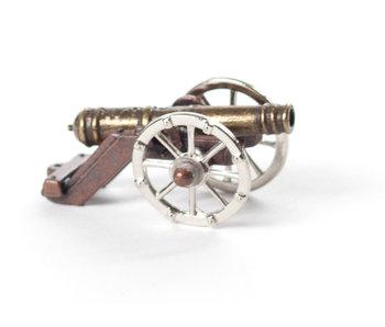 Miniatura de cañón, siglo XVII