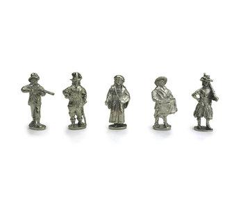 Réplicas de figuras, La guardia nocturna, Rembrandt