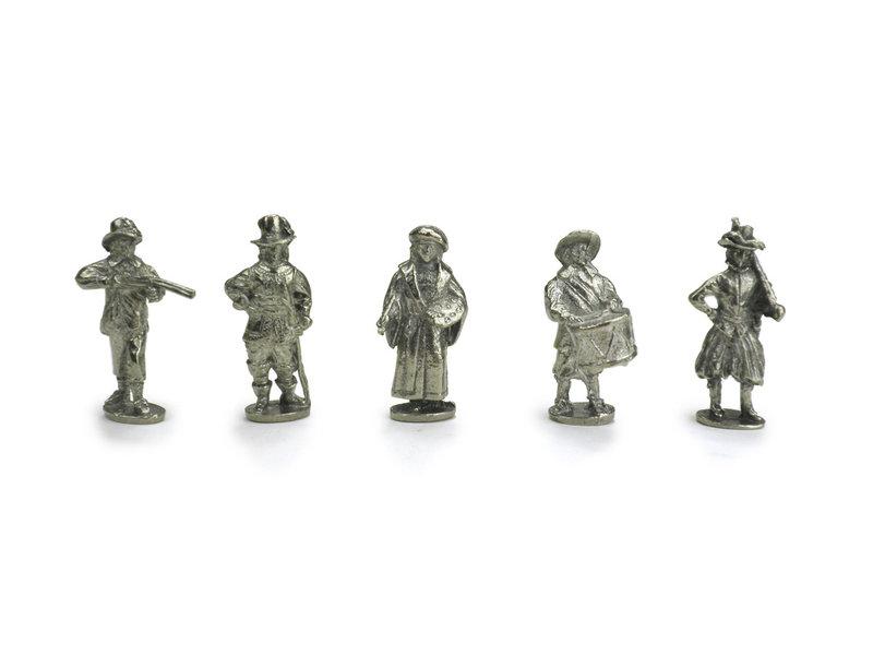 Replica figuren, De Nachtwacht, Rembrandt