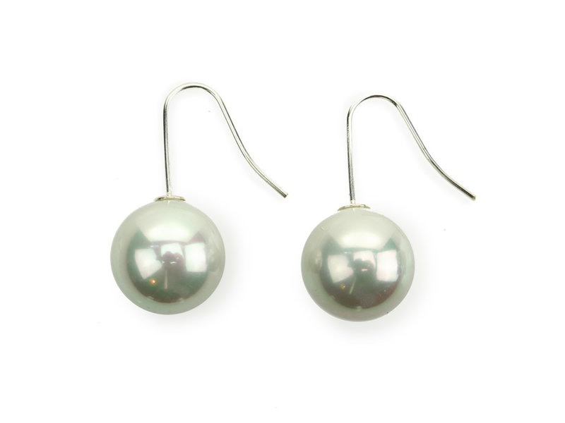 Pearl Earrings Set Rubens Silver Hangers