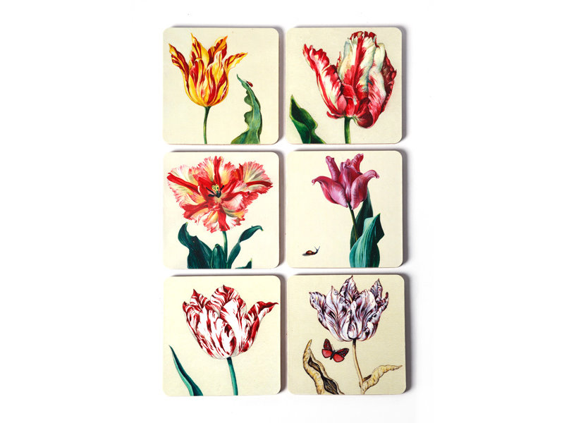 Dessous de verre, tulipes Ksenia