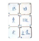 Coasters , Delft Blue Tiles - Children's Games