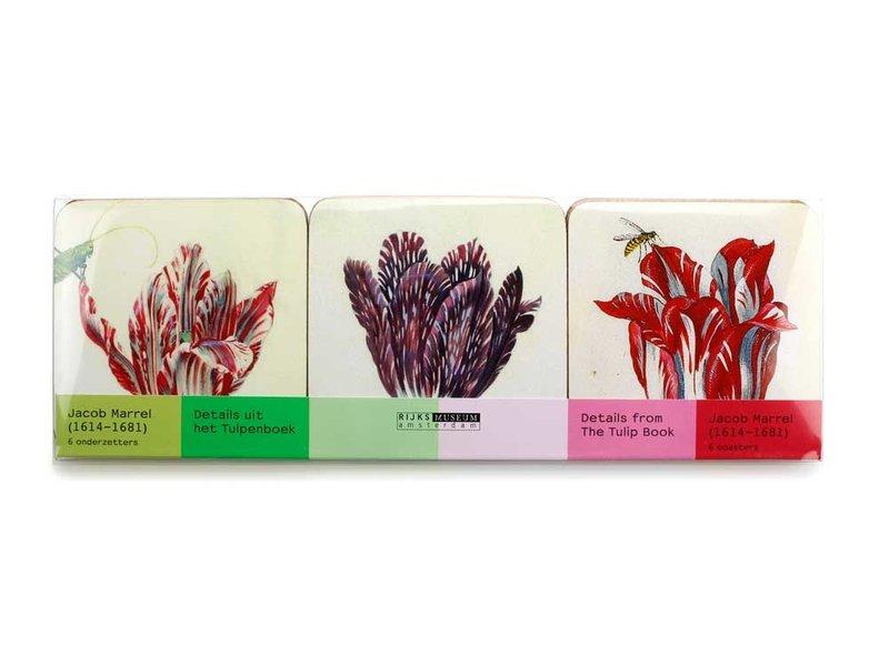 Coasters, Tulips, Marrel