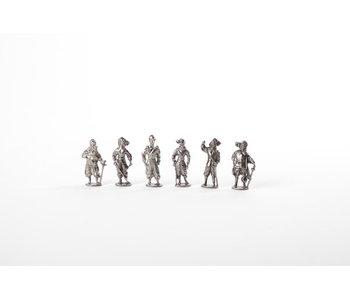 Répliques de figurines, Mousquetaires