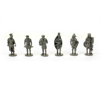 Réplicas de figuras, romanos