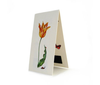Magnetic Bookmark, Tulip Ksenia