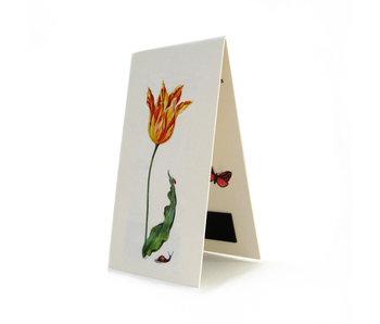 Marque-page magnétique, Tulipe Ksenia