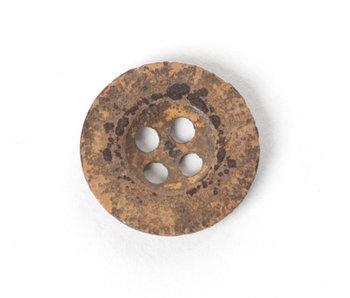 Hallazgos arqueológicos, botón, embalado