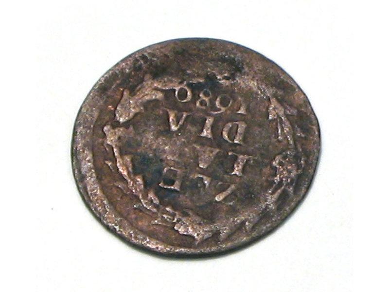 Archäologische Funde, Minze, verpackt