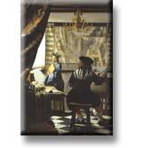 Magnet de réfrigérateur, l'art de la peinture, Vermeer