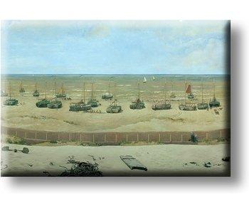Koelkastmagneet ,Panorama Mesdag , Mesdag