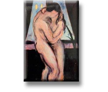 Aimant pour réfrigérateur, The Kiss, Munch