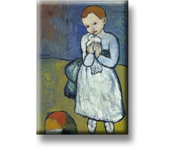 Fridge Magnet, Child with Dove, Picasso