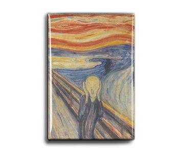 Imán de nevera, El grito, Munch