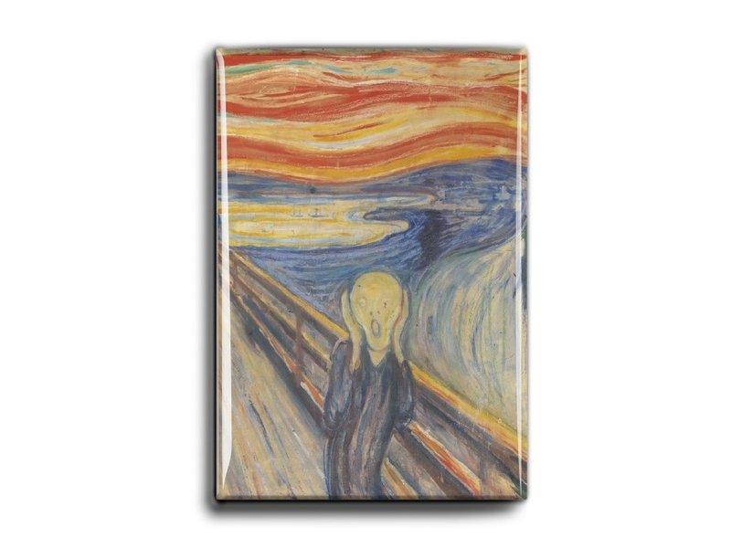 Magnet pour frigo, Le cri, Munch