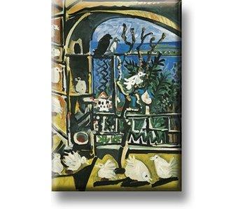 Fridge Magnet, Pigeons, Picasso