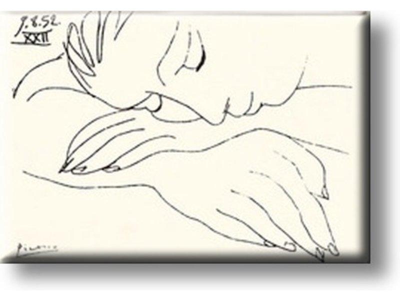 Imán De Nevera, Mujer Durmiente, Picasso