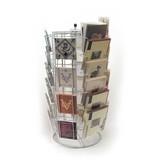 Exhibidor de tarjetas, modelo de mesa carrusel