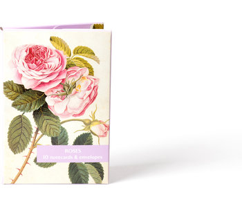 Card Wallet, Notecards Roses